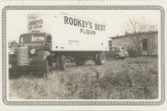 Rodkey's Best Flour Truck, 1939