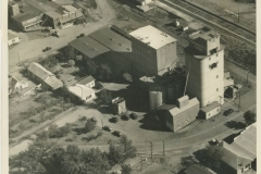 Aerial View of Eagle Milling Co., Circa 1936