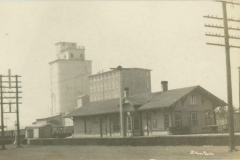 Edmond Depot with Eagle Milling Co.