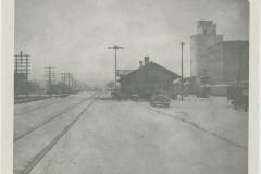 Edmond Train Depot, Eagle Milling Co. in Background