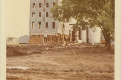 Rodkey Mill Being Torn Down, 1970
