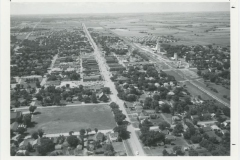 Aerial View - Broadway Looking South