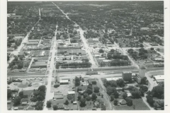 Aerial View - Second Street Looking East