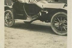 Earl Rodkey in His First Car, 1915