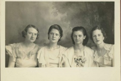 Edmond High School Girls Quartet, 1934-35