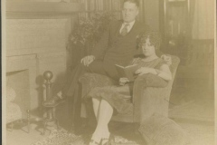 Earl and Emma Rodkey Pose for a Photo, 1925