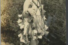 Eloise Rodkey in a Flower Dress