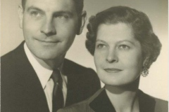 Kenneth W. and Eloise Rodkey Rees Portrait, 1953