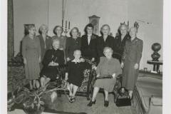 Older P.E.O Members, 1953