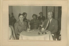 Don and Clara Rodkey at Continental Hotel
