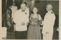 Donald and Clara Rodkey on Delta Cruise Line