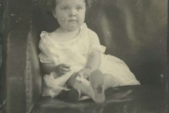 Eloise Rodkey Sitting in a Chair