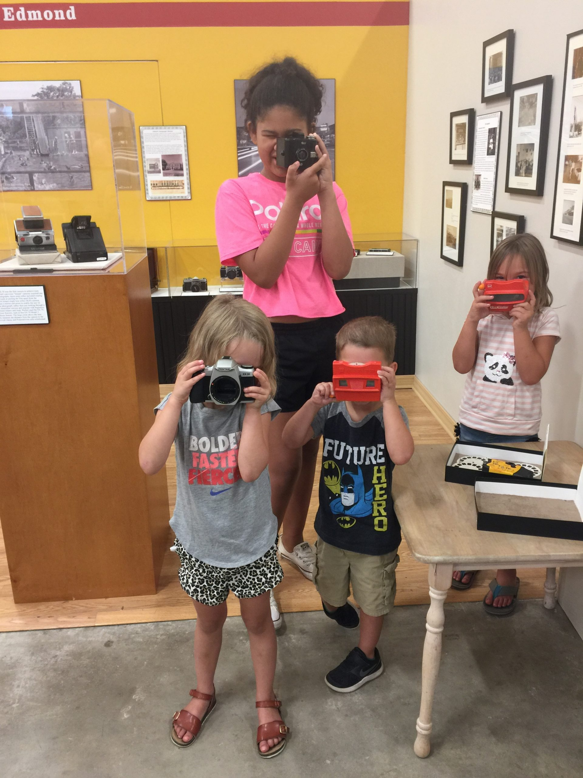 camera interactives